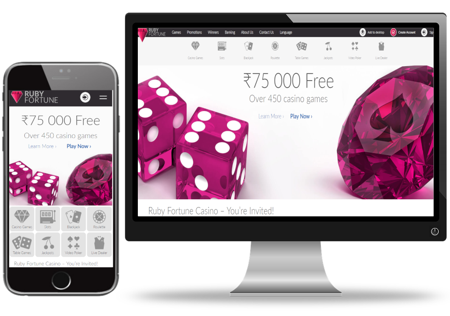 How to Find a Totally free Ruby Fortune Casino Slot Website